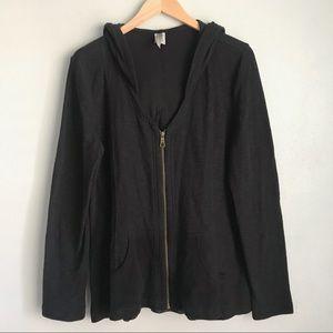 XCVI Full Zip Hooded Sweater/ Hoodie
